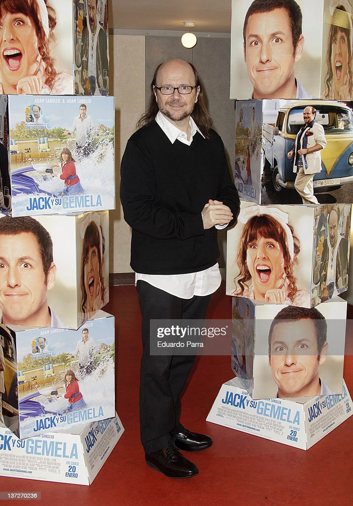 Santiago Segura attends a photocall to promote the movie 'Jack and Jill' at Sony office on January 18 2012 in Madrid Spain