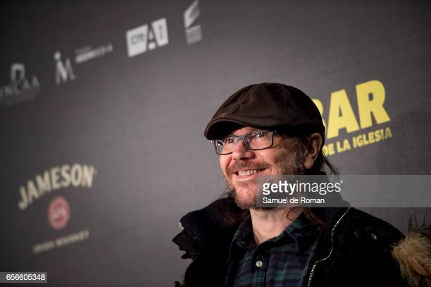 Santiago Segura attends 'El Bar' premiere at Callao cinema on March 22 2017 in Madrid Spain