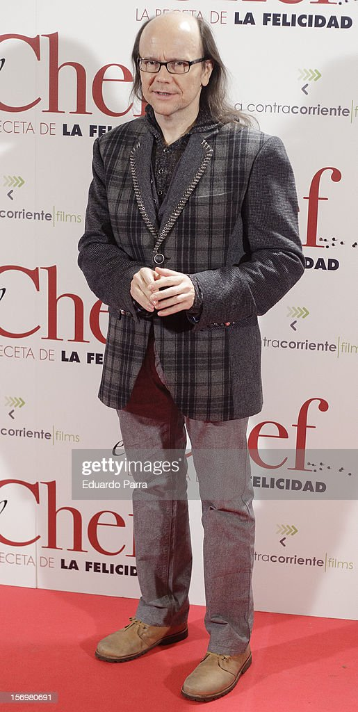 Santiago Segura attends 'El chef, la receta de la felicidad' ('Comme un chef') premiere photocall at Palafox cinema on November 26, 2012 in Madrid, Spain.