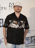 Santiago Segura attends the premiere of 'El Nino' at Kinepolis Cinema on August 28 2014 in Madrid Spain