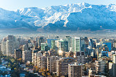Santiago whhite cityscape