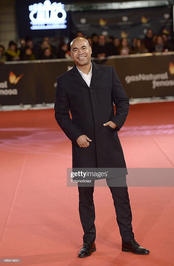 Santiago Zannou attends 'Feroz Awards 2014' at Callao Cinema on January 27, 2014 in Madrid, Spain.