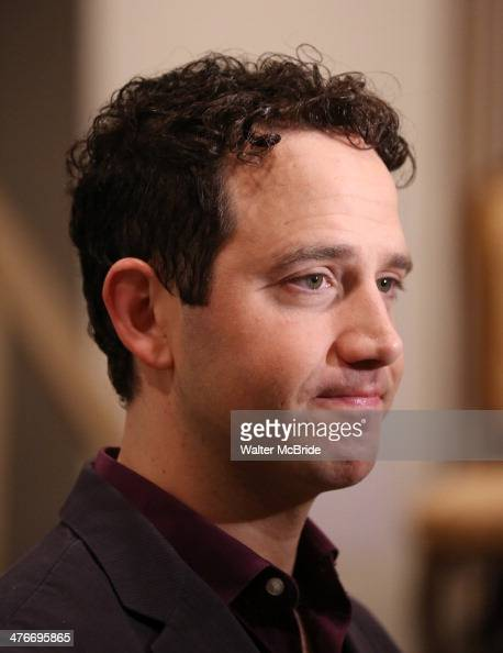 Santino Fontana attends the Meet Greet for Lincoln Center Theater's production of 'Act One' at their rehearsal studio on March 4 2014 in New York City