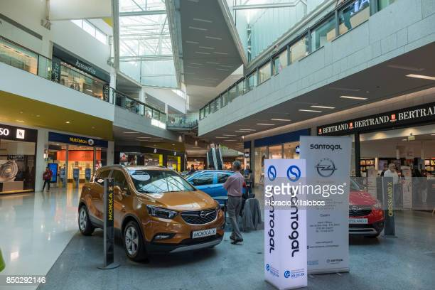 Santogal car dealer stand at Forum Sintra one of four commercial centers owned by The Blackstone Group in Lisbon region on September 20 2017 in...