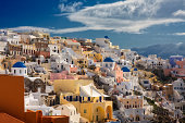 Santorini, a mosaic of colors II