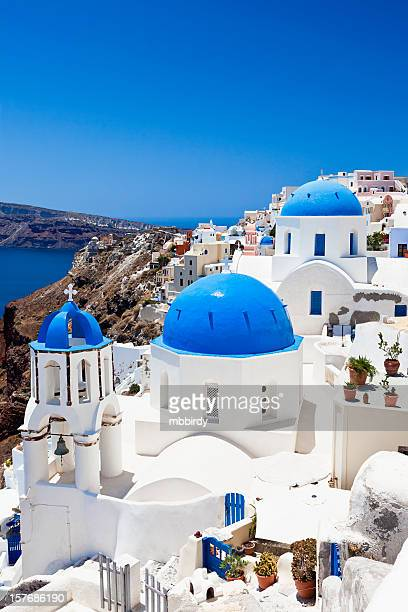 Santorini famous churches