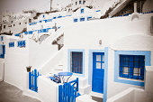 Santorini houses, Greece