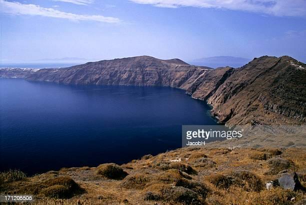 Paysage de Santorin