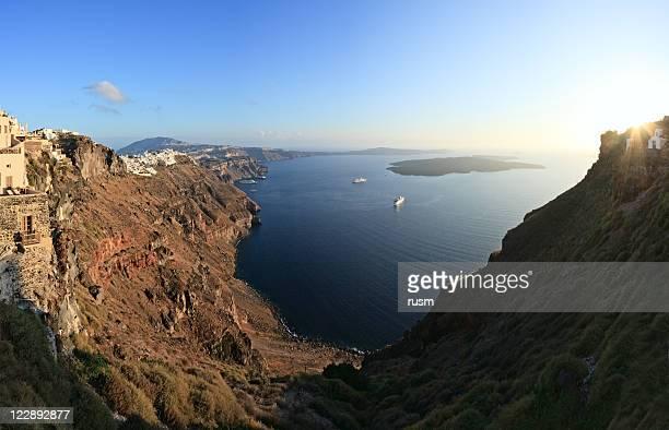 Santorin panoramique