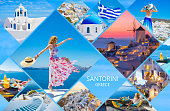 Photo story about vacation experience in Santorini, Greece