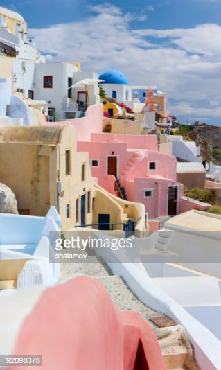 Santorini view : Stock Photo
