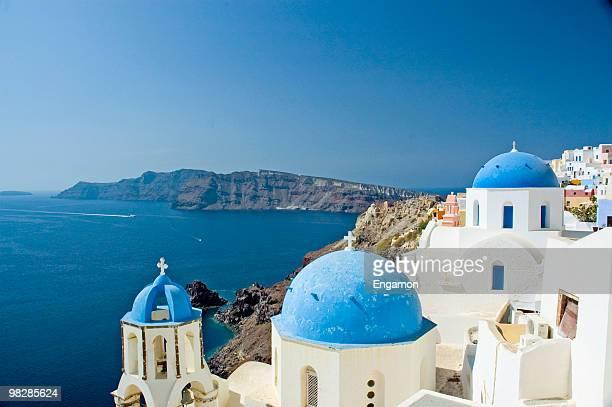 Auf Santorin-Griechenland