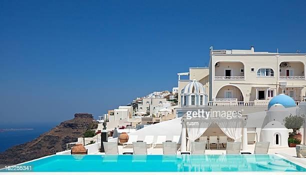Santorini villa