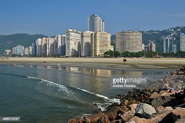Santos beach, Brazil