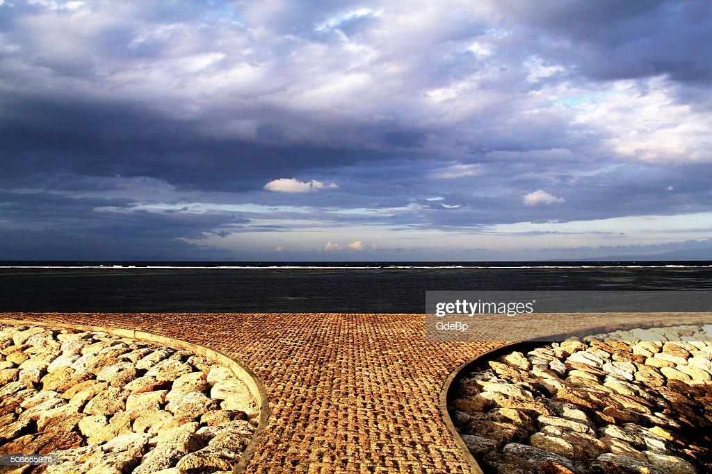 Sanur Beach : Stock Photo