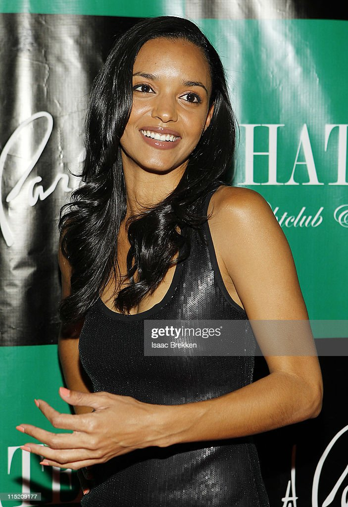 Sanya Hughes, a mermaid in 'Pirates Of The Caribbean: On Stranger Tides' arrives at Chateau Nightclub & Gardens on June 3, 2011 in Las Vegas, Nevada.