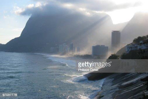 Sao Conrado Beach, Rio de Janeiro.