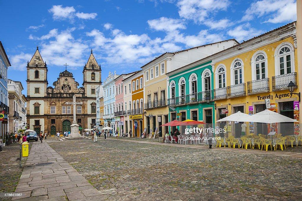 Sao Francisco Church in Salvador de Bahia.