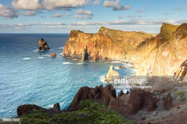 Madeira, Portugal - Juny 2017: Sao Lourenco peninsula