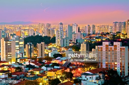 Sao paulo and night lights