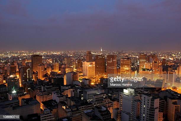 Sao Paulo downtown, Brasil