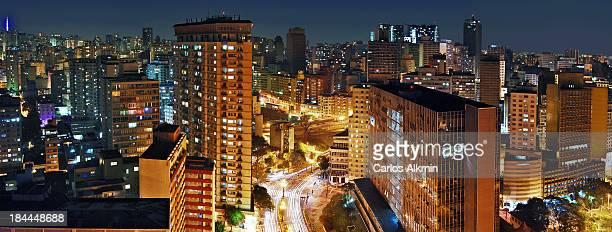 Sao Paulo Downtown Skyline