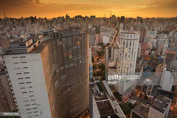 Sao Paulo in the afternoon