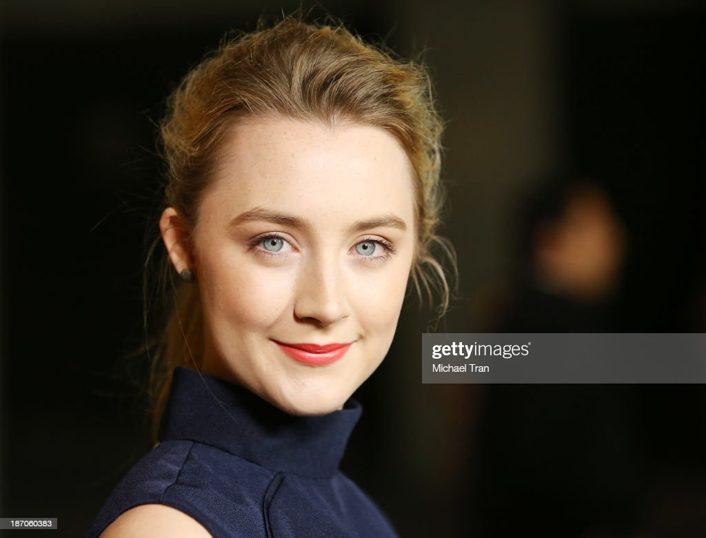 Saoirse Ronan arrives at the Los Angeles premiere of 'How I Live Now' held at ArcLight Hollywood on November 5, 2013 in Hollywood, California.