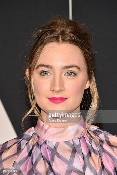 Saoirse Ronan attends the Academy of Motion Picture Arts and Sciences' 7th Annual Governors Awards at The Ray Dolby Ballroom at Hollywood Highland...