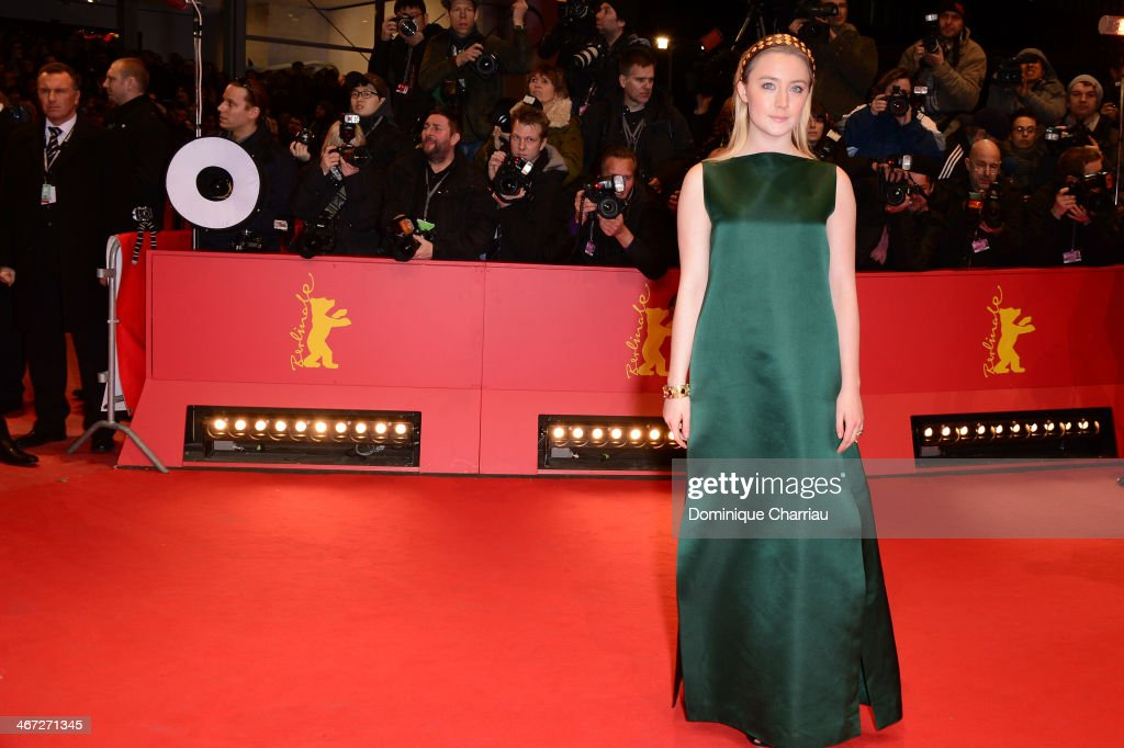 <a gi-track='captionPersonalityLinkClicked' href=/galleries/search?phrase=Saoirse+Ronan&family=editorial&specificpeople=4475637 ng-click='$event.stopPropagation()'>Saoirse Ronan</a> attends 'The Grand Budapest Hotel' Premiere during the 64th Berlinale International Film Festival at Berlinale Palast on February 6, 2014 in Berlin, Germany.