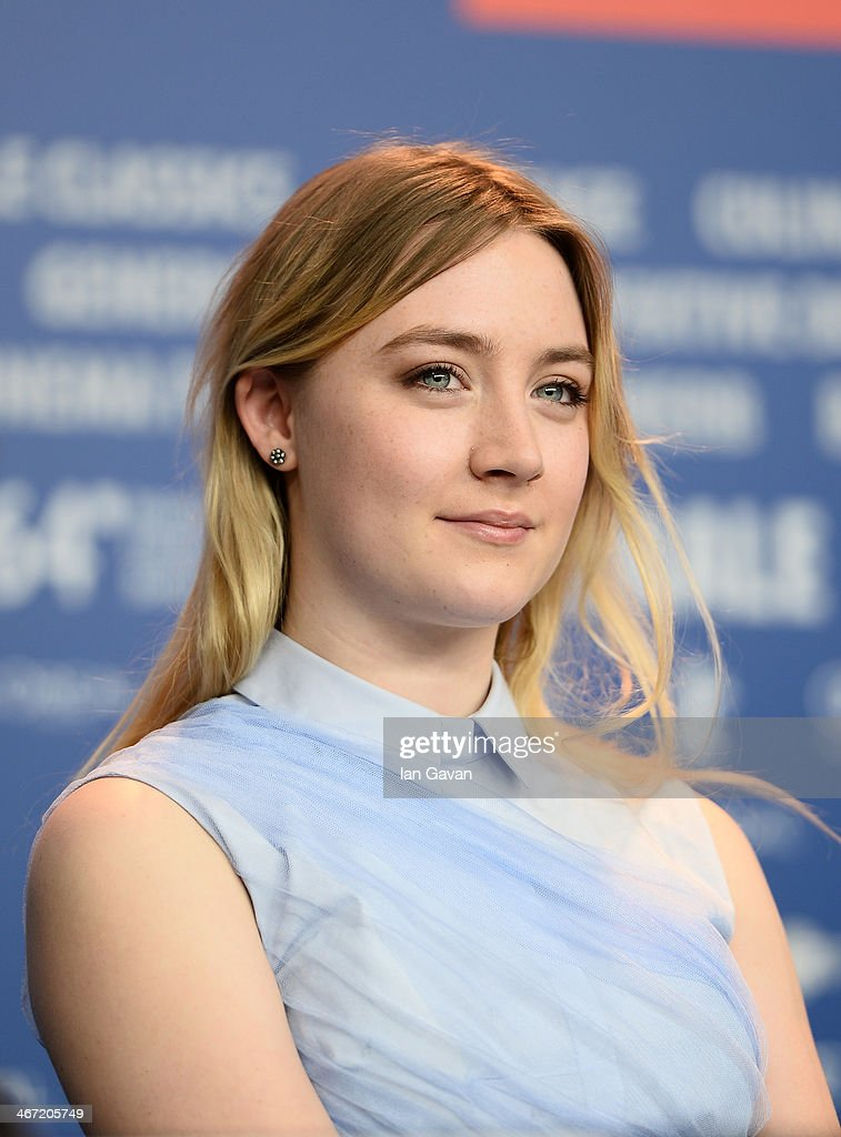 Saoirse Ronan attends 'The Grand Budapest Hotel' press conference during 64th Berlinale International Film Festival at Grand Hyatt Hotel on February 6, 2014 in Berlin, Germany.