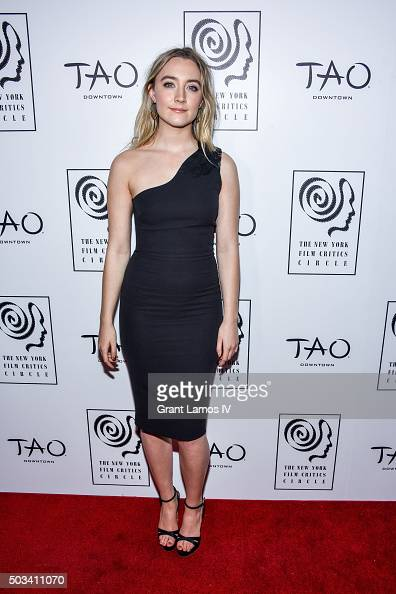 Saoirse Ronan attends the New York Film Critics Circle Awards at TAO Downtown on January 4 2016 in New York City