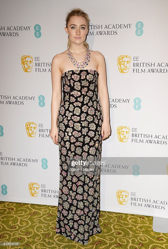 <a gi-track='captionPersonalityLinkClicked' href=/galleries/search?phrase=Saoirse+Ronan&family=editorial&specificpeople=4475637 ng-click='$event.stopPropagation()'>Saoirse Ronan</a> attends the official After Party Dinner for the EE British Academy Film Awards at The Grosvenor House Hotel on February 14, 2016 in London, England.