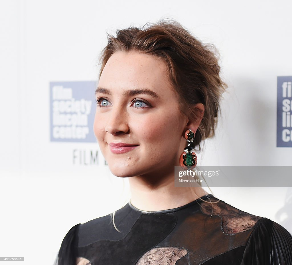 Saoise Ronan attends the 53rd New York Film Festival Premiere of 'Brooklyn' at Alice Tully Hall Lincoln Center on October 7 2015 in New York City