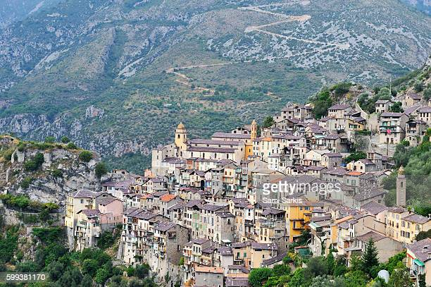Saorge village, Roya Valley, Alpes-Maritimes, France, Europe
