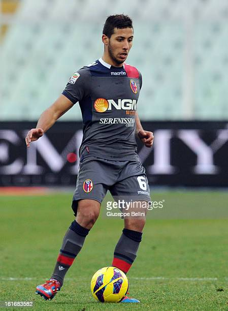 Saphir Sliti Taider of Bologna in action during the Serie A match between Pescara and Bologna FC at Adriatico Stadium on February 3 2013 in Pescara...