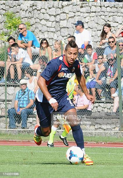Saphir Taider of Bologna FC in action during the preseason friendly match between Bologna FC and Bolzano on July 20 2013 in Andalo near Trento Italy