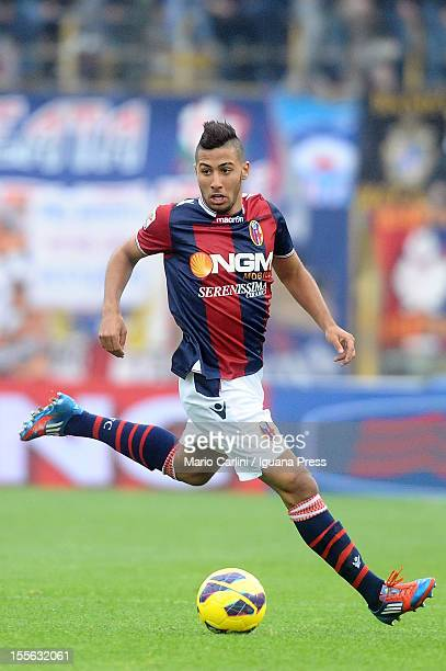 Saphir Taider of Bologna FC in action during the Serie A match between Bologna FC and Udinese Calcio at Stadio Renato Dall'Ara on November 4 2012 in...