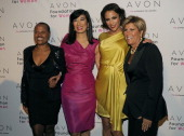 Sapphire Andrea Jung of Avon Paula Patton and Suze Orman attend the Avon Foundation's 'Champions Who Change Women's Lives' celebration at Cipriani...