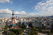 Sapporo Cityscape with Sapporo TV Tower in Japan.