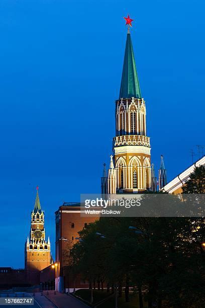 Sapsskaya Tower and Saint Nicholas Tower