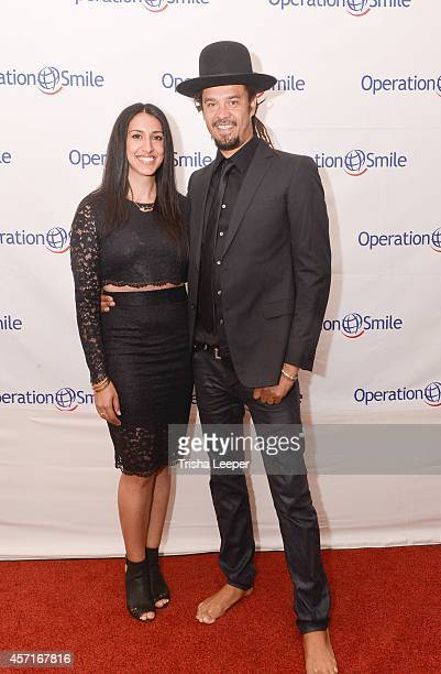 Sara Agah and Michael Franti attends 3rd Annual Operation Smile Event Honoring Musician And Do It For The Love Foundation Founder Michael Franti at...