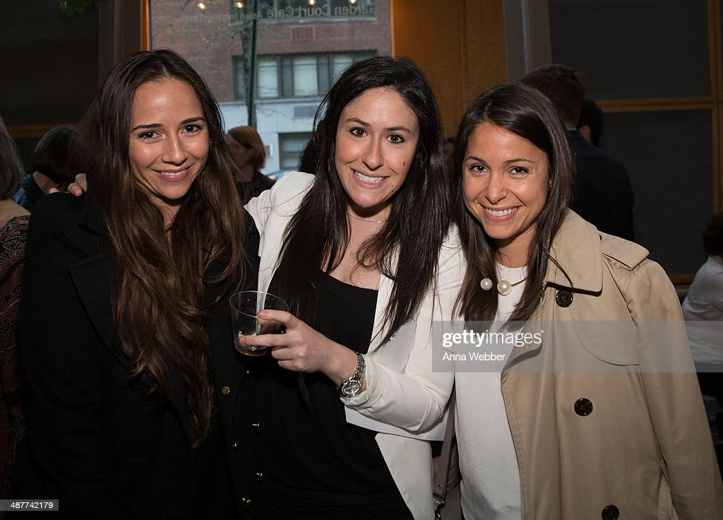 Sara Alvarez, Lara Drasin, Alison Wender attend a Special Screening Of 'Documented' Co-Hosted By Asia Society And MTV at Asia Society on May 1, 2014 in New York City.