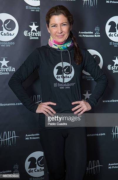 Sara Baras attends 'El Bonanno' 20th Anniversary event on December 12 2014 in Madrid Spain