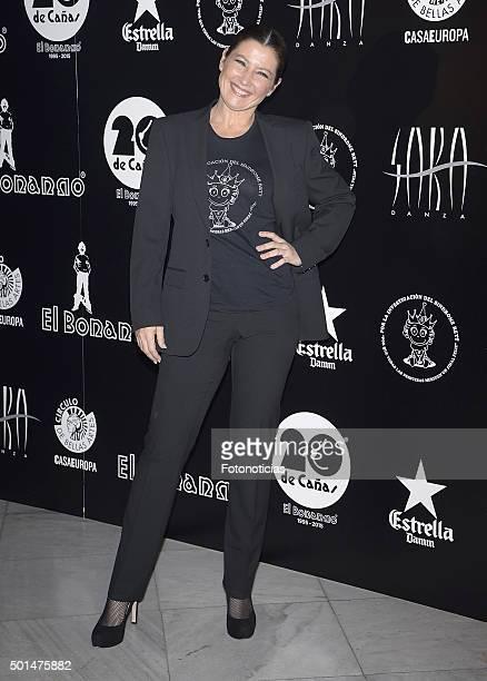 Sara Baras attends 'El Bonanno' 20th Anniversary Party at the Circulo de Bellas Artes on December 15 2015 in Madrid Spain