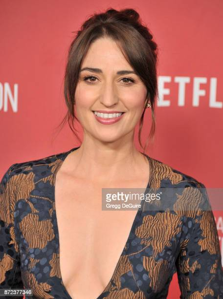 Sara Bareilles arrives at the SAGAFTRA Foundation Patron of the Artists Awards 2017 on November 9 2017 in Beverly Hills California