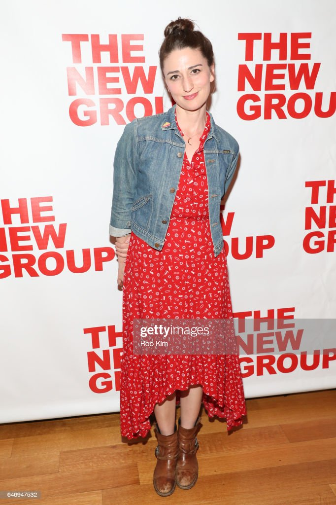 Sara Bareilles attends 'All The Fine Boys' Opening Night on March 1, 2017 in New York City.