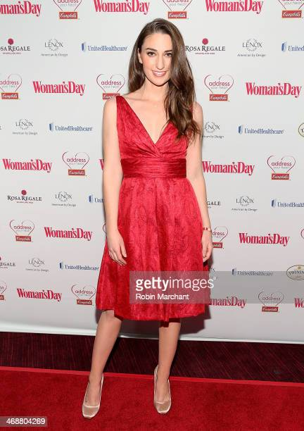 Sara Bareilles attends the 11th Annual Red Dress awards at Allen Room at Lincoln Center on February 11 2014 in New York City