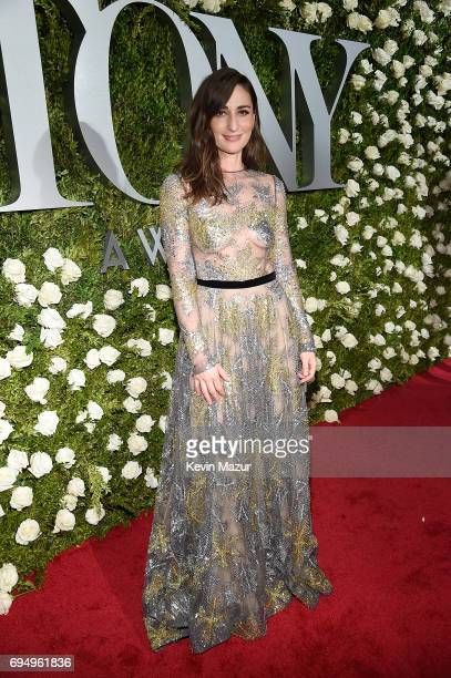 Sara Bareilles attends the 2017 Tony Awards at Radio City Music Hall on June 11 2017 in New York City