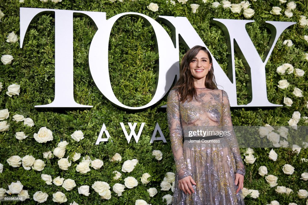 Sara Bareilles attends the 2017 Tony Awards at Radio City Music Hall on June 11, 2017 in New York City.
